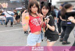 (HD) 200GANA-2167 音樂祭搭訕 女大生2人組[有碼高清中文字幕]